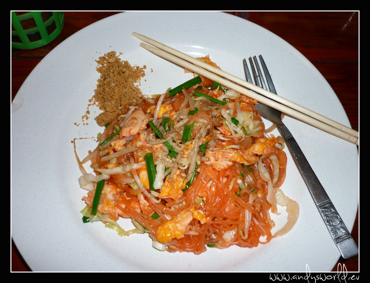 padthai with chicken